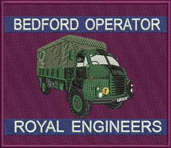 Bedford Operator Badge